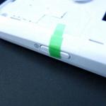 Carca central para Samsung GT-I9250 Galaxy Nexus blanco