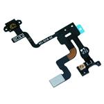 Encendido Buton proximidad Sensor de luz Flex para iPhone 4S