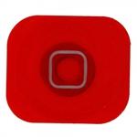 Home Boton para iPhone 5 rojo