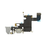 Lightning Conector&Auricular Conector para iPhone 6 negro