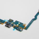 Micro USB Conector Microfone Flex   para LG Optimus L9 P760 blanco
