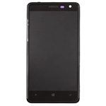 Pantalla&Tactil&Front Housing para Nokia Lumia 625 negro