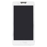 Pantalla&Tactil&Marco(With Motorola&Verizon Logo) para Motorola Droid Razr MAXX HD blanco