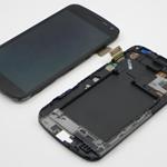 Pantalla&Tactil&Marco para Samsung GT-I9250 Galaxy Nexus negro