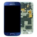 Pantalla&Tactil&Marco  para Samsung S4 Mini I9195 azul