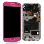 Pantalla&Tactil&Marco  para Samsung S4 Mini I9195 rosa