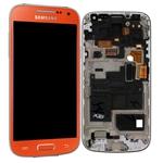 Pantalla&Tactil&Marco  para Samsung S4 Mini I9195 rojo