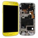 Pantalla&Tactil&Marco  para Samsung S4 Mini I9195 amarillo