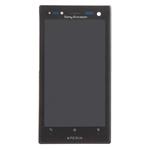 Pantalla&Tactil&Marco para Sony Xperia Acro S LT26w  negro