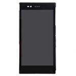 Pantalla&Tactil&Marco para Sony Xperia Z Ultra XL39h  negro
