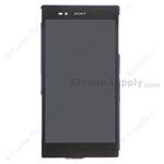 Pantalla&Tactil&Marco para Sony Xperia Z Ultra XL39h  púrpura