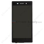 Pantalla&Tactil&Marco para Sony Xperia Z1 L39h  negro