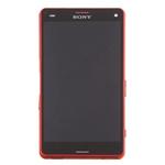 Pantalla&Tactil&Marco para Sony Xperia Z3 Compact  naranja