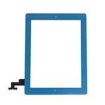 Tactil&Home Boton para iPad 2 azul Claro