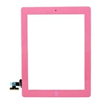 Tactil&Home Boton para iPad 2 rosa