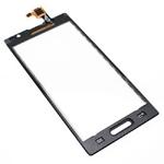 Tactil Mica Vidrio para LG Optimus L9P760P765P768 negro