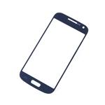 Tactil Mica Vidrio para Samsung S4 Mini I9195 azul
