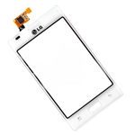 Tactil Mica para LG Optimus L5 E610 blanco