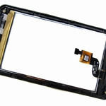 Tactil &Tapa Frontal para LG Optimus 3D P920 negro