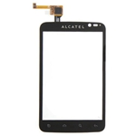 Tactil para Alcatel One Tactil OT-991  negro