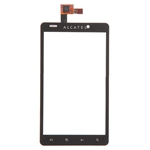 Tactil para Alcatel One Tactil Ultra 960C  negro