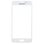 Tactil Mica Vidrio para Samsung Galaxy A3 blanco