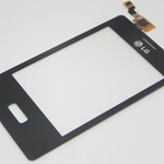 TactilMica para LG Optimus L3 E400 negro