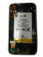 Tapa de bateria Iphone  3gs negra 16gb completa