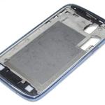 Tapa Frontal Marco para Samsung GT-I8160 Galaxy Ace 2 azul