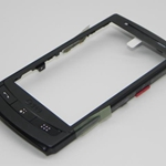 Tapa Frontal para Samsung GT-I8320 H1 negro