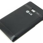 Tapa de bateria para LG Optimus L3 E400 negro