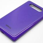 Tapa de bateria para Nokia Lumia 820 púrpura
