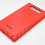 Tapa de bateria para Nokia Lumia 820 rojo