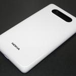 Tapa de bateria para Nokia Lumia 820 blanco