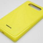 Tapa de bateria para Nokia Lumia 820 amarillo