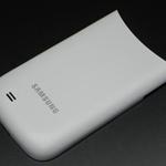 Tapa de bateria para Samsung GT-I8150 Galaxy W blanco